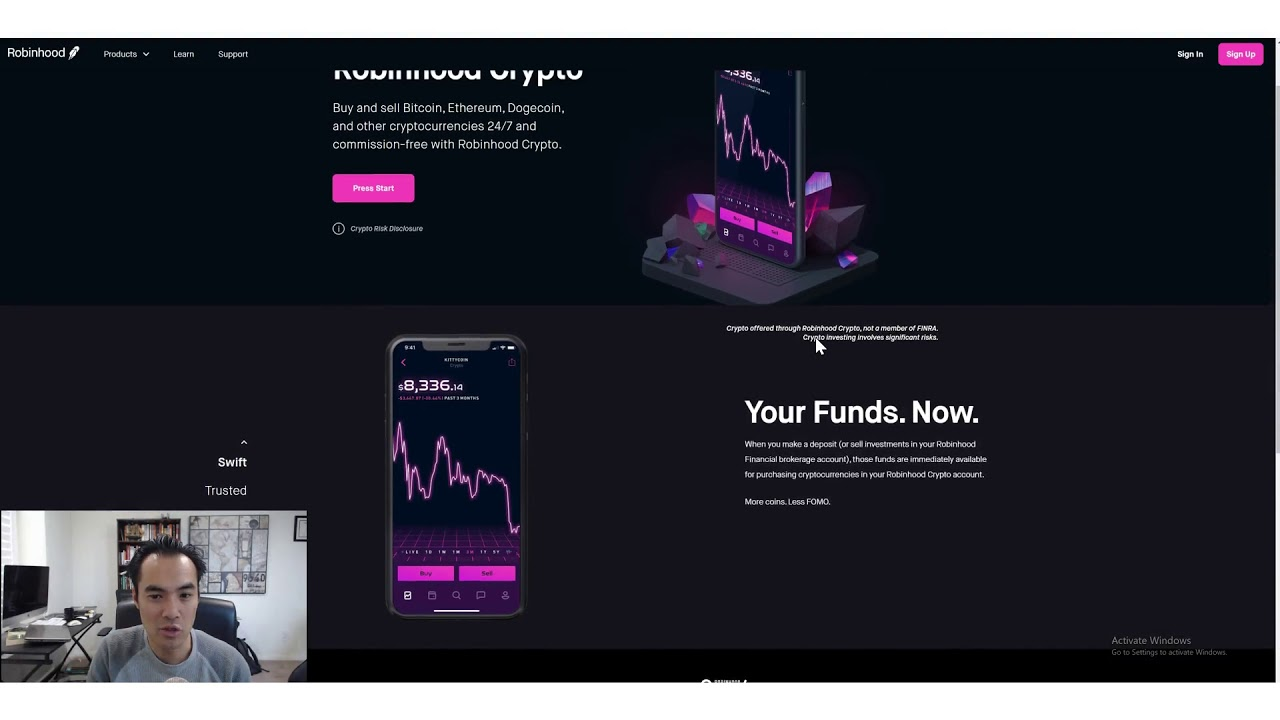 Why RobinHood is  Best Platform to Trade Crypto and Stocks!