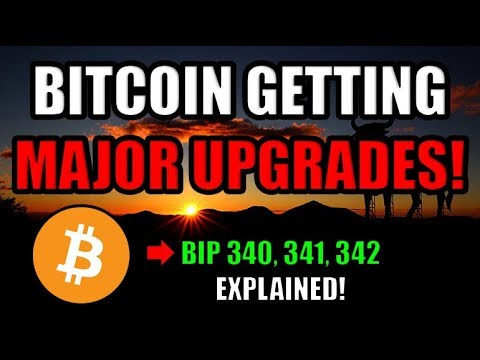 Great News! Bitcoin Is Getting 3 Major Upgrades! ? [Schnorr, Taproot, Tapscript]