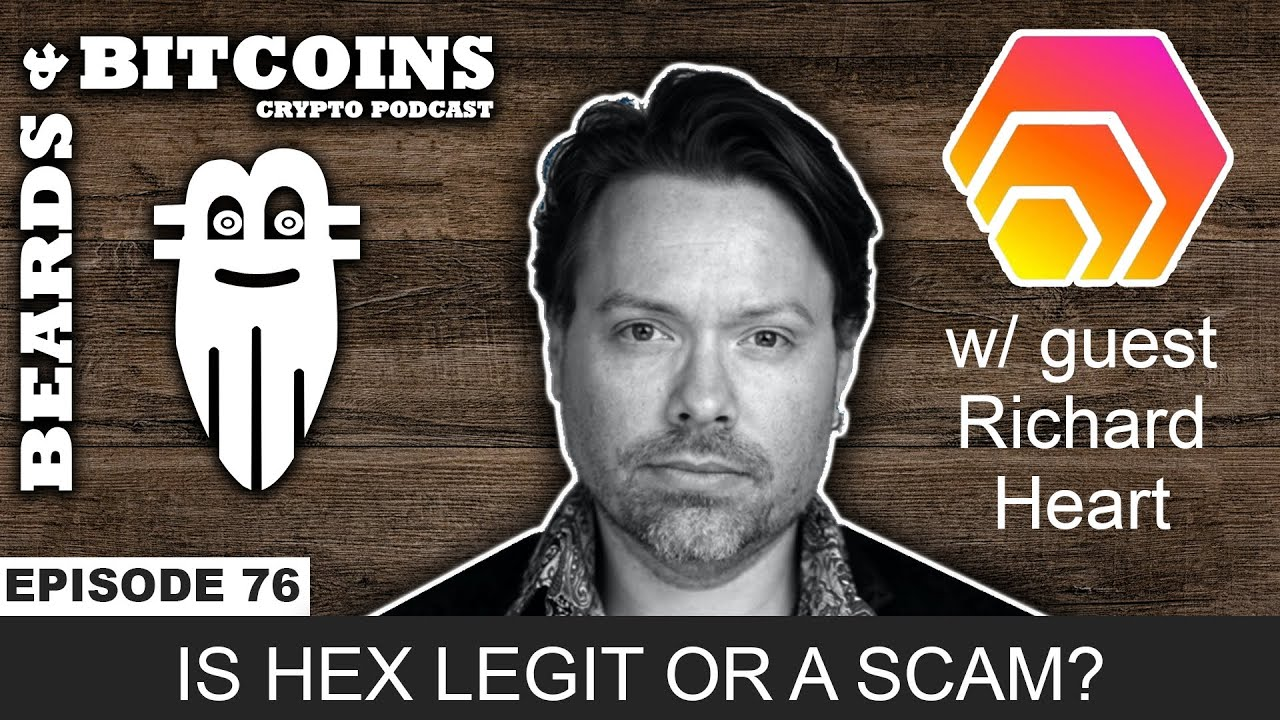 Is HEX Legit or a Scam? | Asking Richard Heart Tough Questions Interview