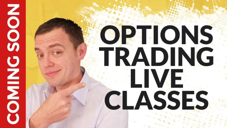 NEW LIVE CLASSES ON TRADING OPTIONS COMING SOON!