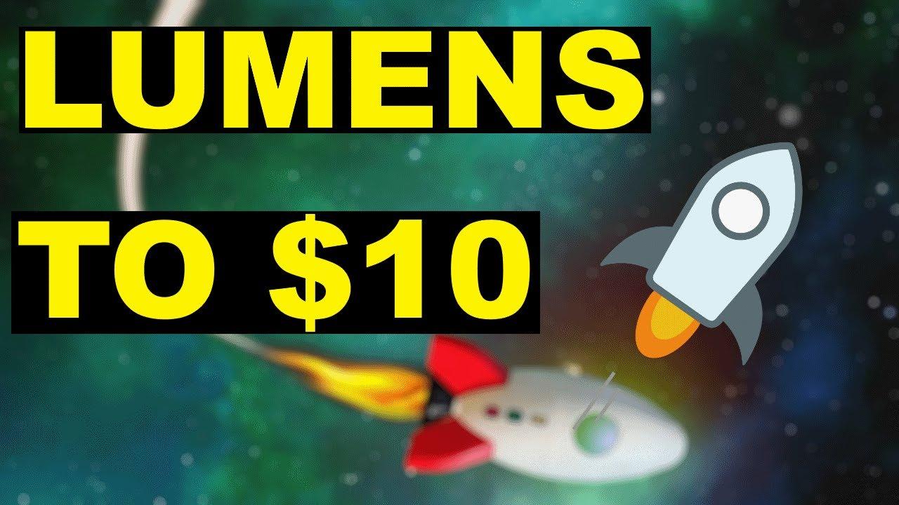 Stellar Lumens Moonship to 10$