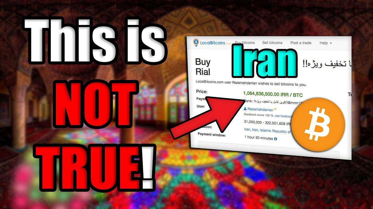 "The Latest Iran-Bitcoin Lie: This Channel WILL NOT ""Toe The Line"". [Crypto News]"