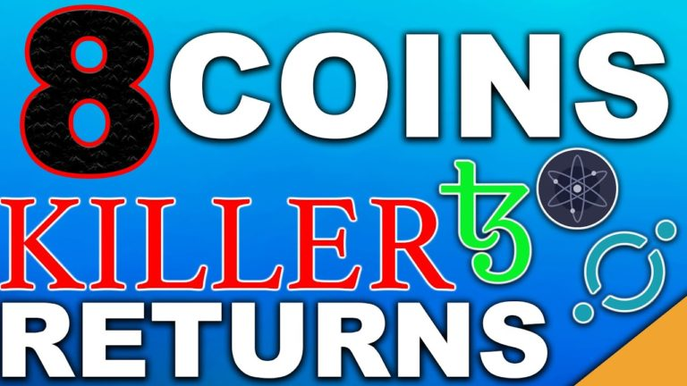 8 Coins With KILLER Returns | Best Passive Income Cryptos