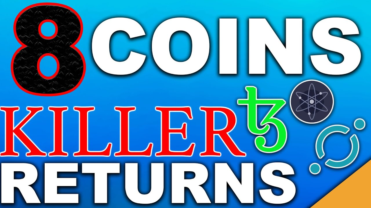 8 Coins With KILLER Returns   Best Passive Income Cryptos