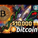 BITCOIN PRICE SMASHES $10,000!!! 🚀 WHY This BTC BREAKOUT is DIFFERENT! BULLISH!