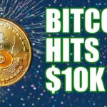 Bitcoin Hits $10k & No Signs of Stopping