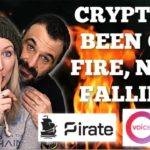 Crypto markets been on Fire NOW Falling   Privacy on Pirate Chain   EOS Voice