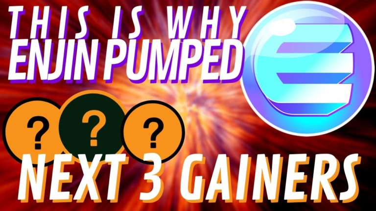 HUGE ENJIN + ICON PUMPs | Which Coins Are NEXT?