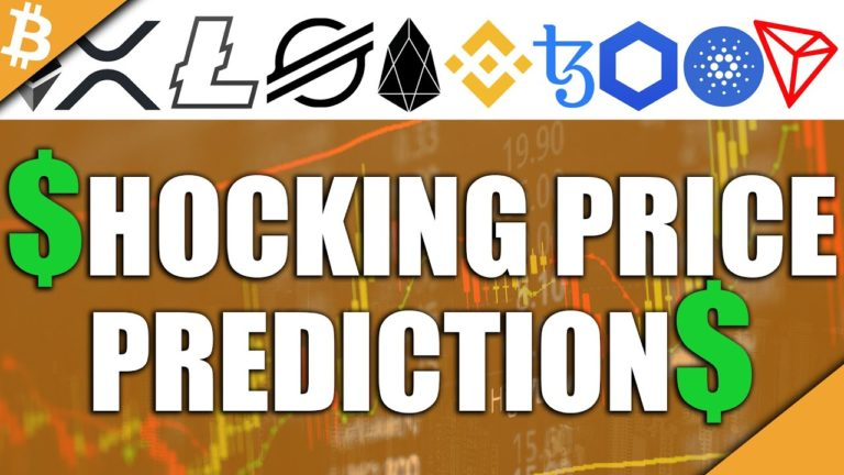 SHOCKING Altcoin Price Predictions – XRP, XTZ, LINK, TRX, ADA, & More!