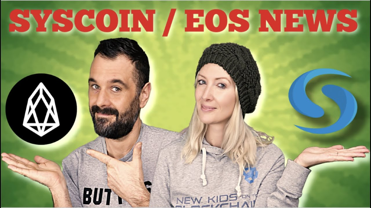 SYSCOIN UPDATE | EOS LATEST NEWS | EARNING PASSIVE CRYPTO