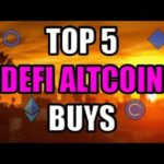 Top 5 Ethereum DEFI Altcoins To Pump In The Next Month!