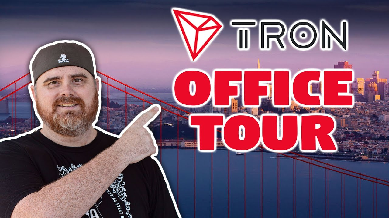 Tron Office Tour Livestream | Confirming the Tron San Francisco Office Exists