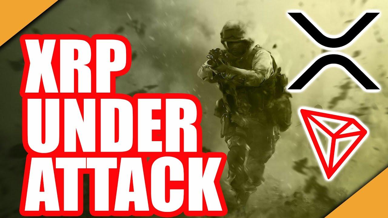 XRP Under Attack! ⚔️Warren Buffett Owns TRON ?IOST News!