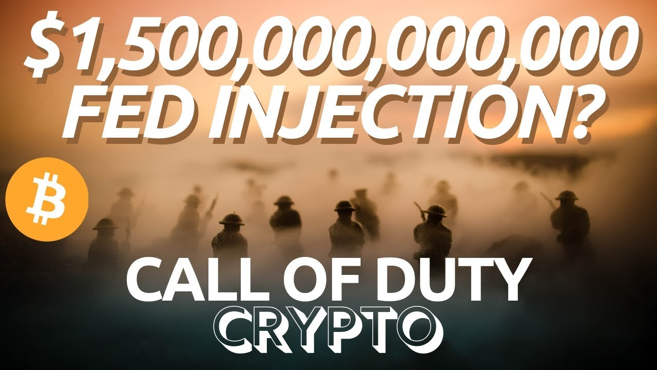 Bitcoin And Stock Markets | FED Injections | Ethereum DeFi In Trouble? Call of Duty Crypto