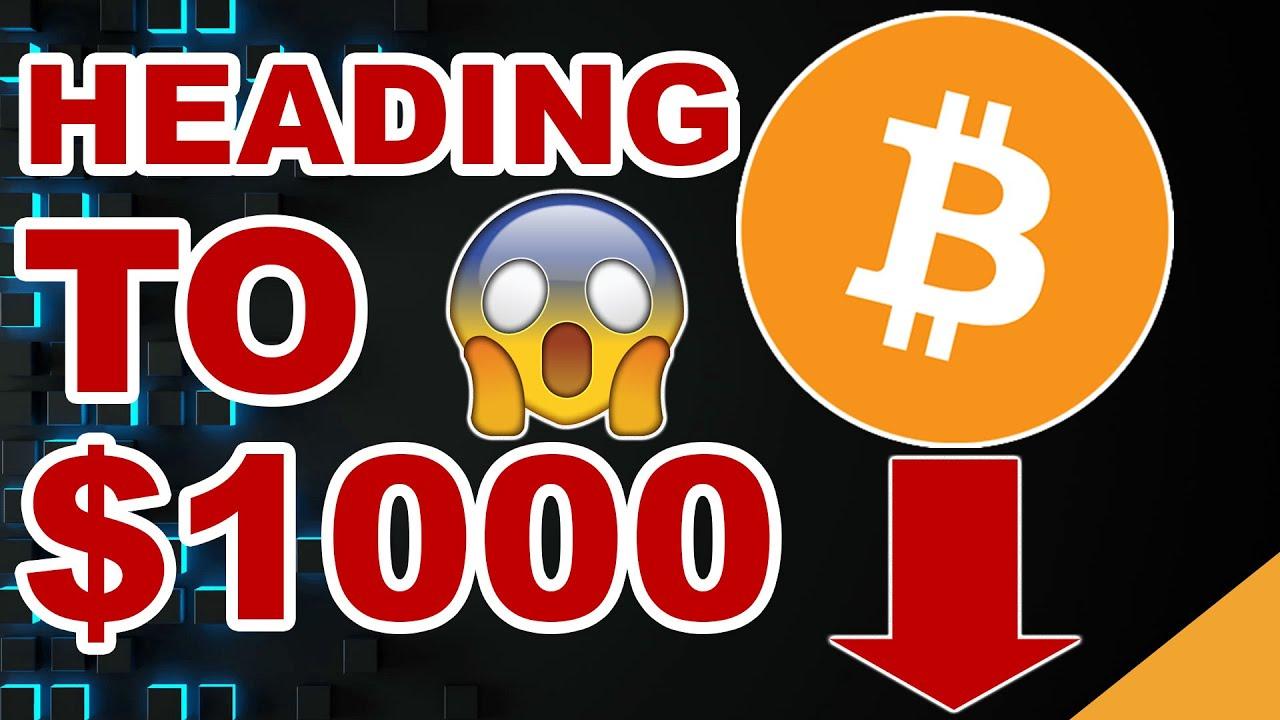 Bitcoin Heading to $1k   Will This Destroy BTC? (Crypto Crash 2020)
