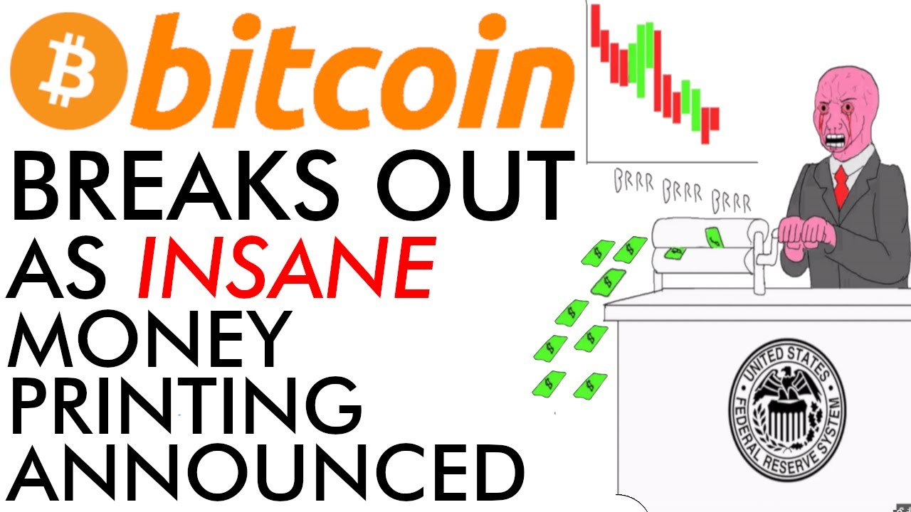 Breaking! Bitcoin Breaks Out As Insane Money Printing Announced [2020 is CRAZY]