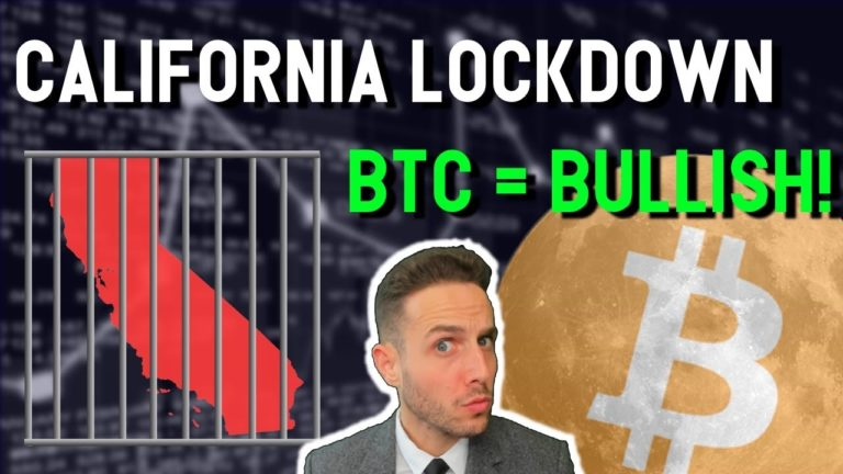 California on LOCKDOWN while Bitcoin strengthens against S&P 500. Coronavirus crypto updates
