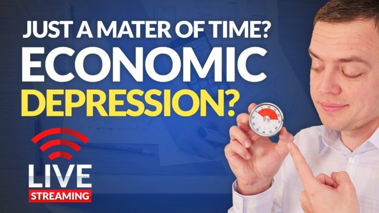 ECONOMIC DEPRESSION COMING? – Let's Discuss the Stock Market & Economics