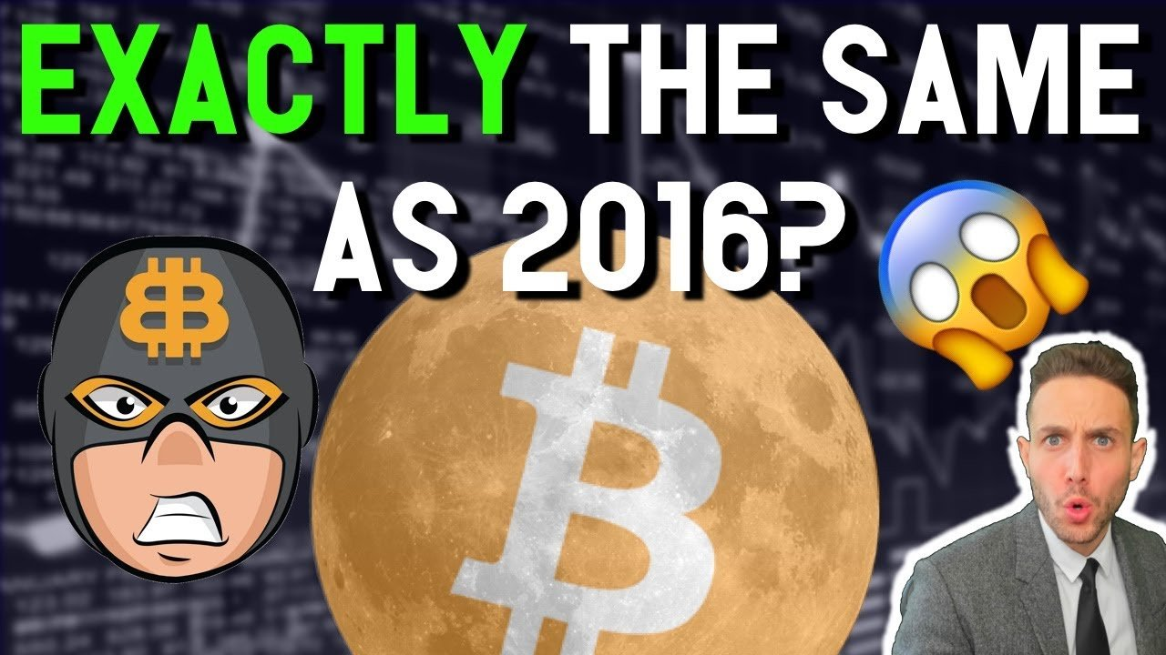 EXACTLY the same as 2016? $250K Bitcoin incoming? Bitboy explains why the moon is coming soon!