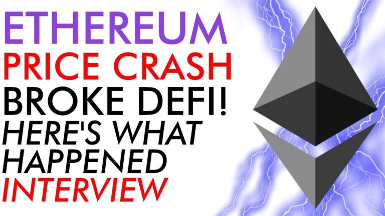 Ethereum  Price Crash Nearly Broke Defi – Here's What Happened! [Interview]