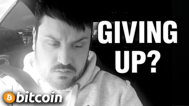 Giving Up on Bitcoin? CMR