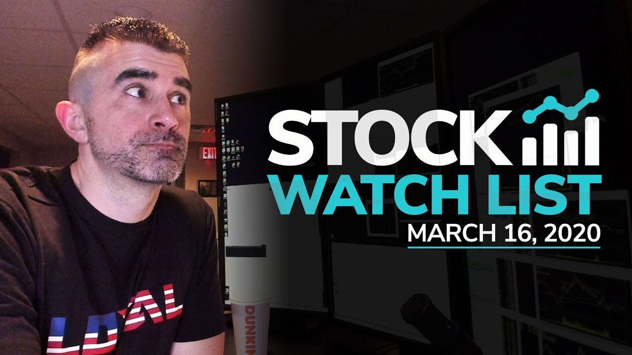 How to Trade in this Crazy Market + Sunday Scan for March 16, 2020