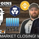 Stock Market CLOSING? WHAT?!?!   Top Quarantined Coin Picks