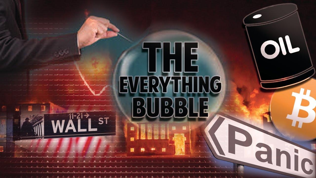 The Everything Bubble Is Popping? (Oil, Stocks, Bonds, BTC Crashing)