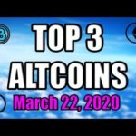 Top 3 Altcoins I Am Looking Into RIGHT NOW! 👍