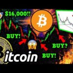 WOW!! BITCOIN to $16k!!? Signal that NAILED the BTC BOTTOM Shows EXACT Time to BUY!