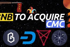 Will Binance Buy CoinMarketCap? Chiliz, Dash, Cosmos and Band Protocol Crypto News
