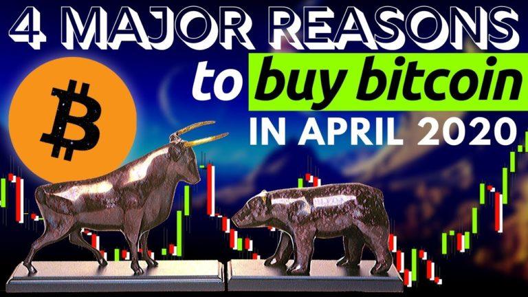 4 BULLISH REASONS TO BUY BITCOIN
