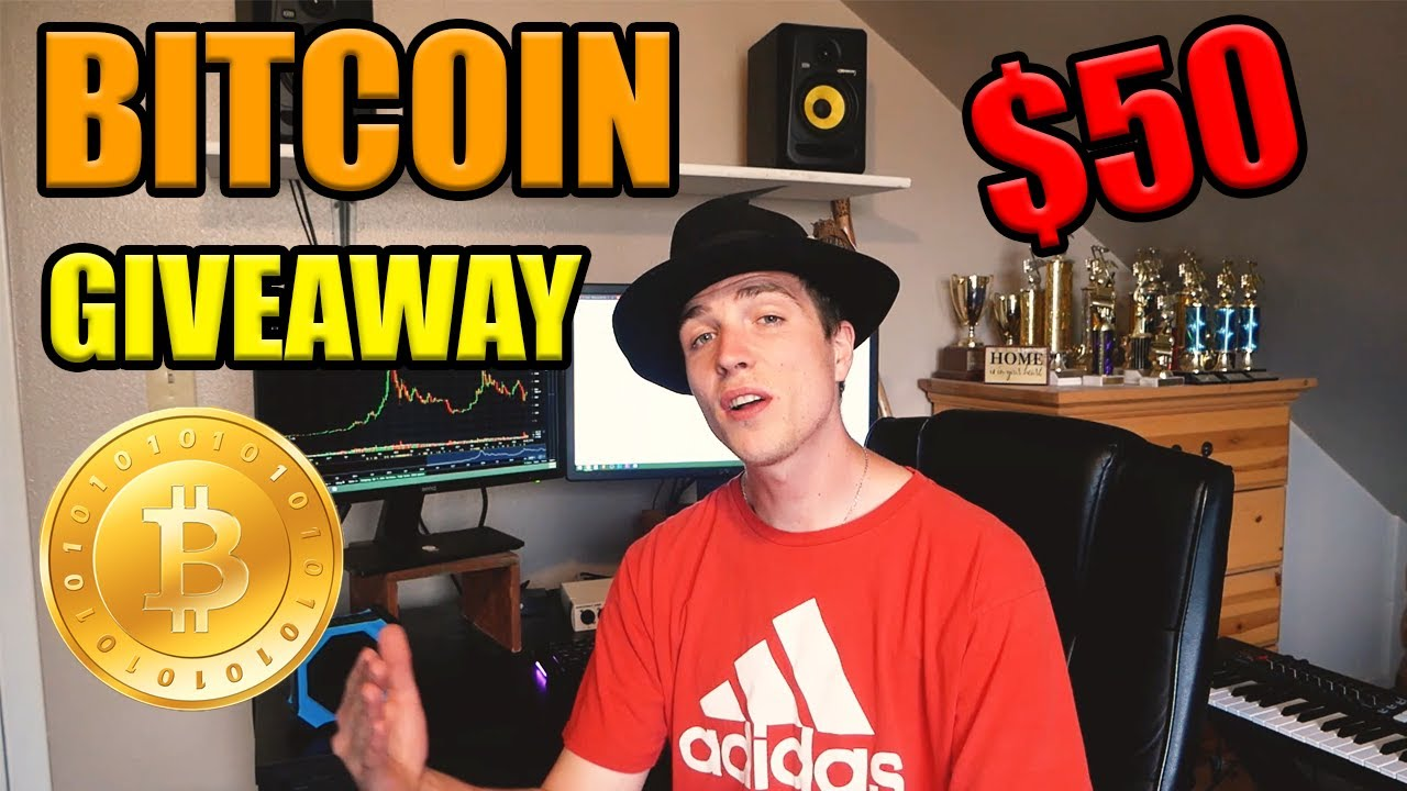 $50 BITCOIN GIVEAWAY FOR THE PANDEMIC