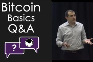Bitcoin Basics Workshop Follow-Up: Livestream Q&A