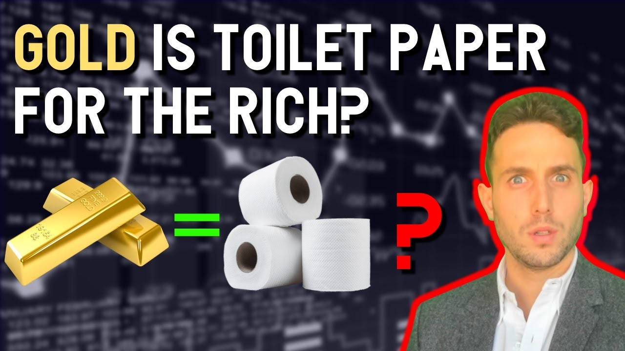 GOLD = TOILET PAPER for the RICH? Bitcoin set to EXPLODE as precious metals become unavailable! BTC