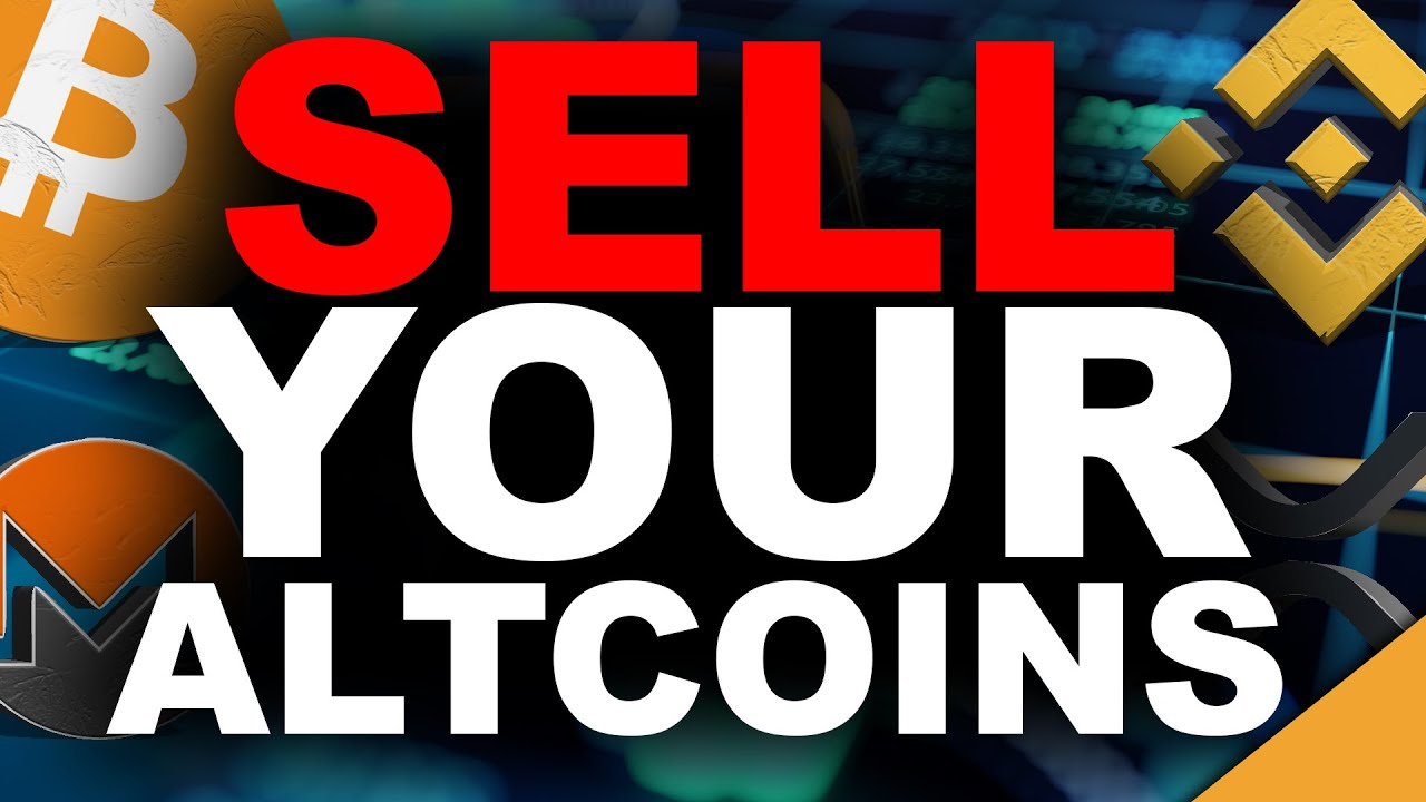 Sell Your Altcoins! (Why You Don't Have Enough Bitcoin)