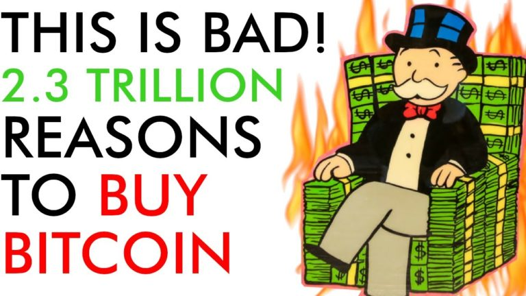 This is BAD! Bitcoin Price Trouble? 2.3 Trillion More Reasons to BUY BTC