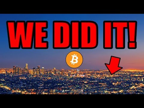 ?WE DID IT! Bitcoin Is UP! Los Angeles Is Shut Down. Let's Talk About it.  [LATE NIGHT LIVESTREAM]