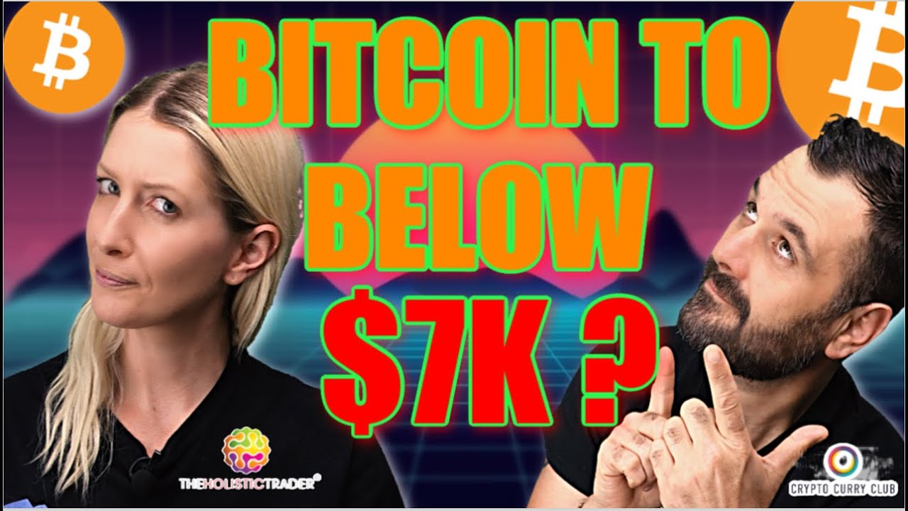 Bitcoin to Below $7K ? | All Latest Crypto / Blockchain News