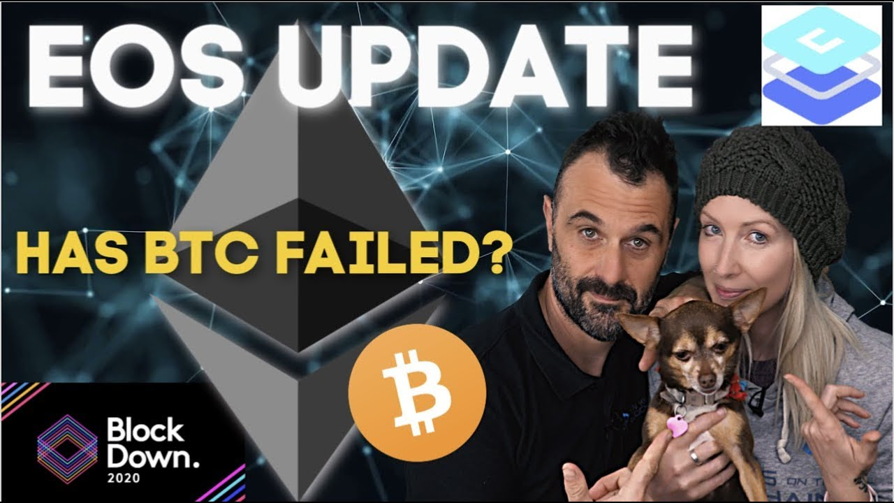 EOS Update with Cypherglass | Blockdown2020 | Has Bitcoin failed?