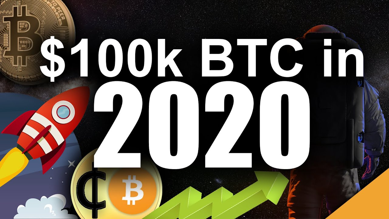 Will Bitcoin TOP $100k in 2020? (Most Likely Scenario)