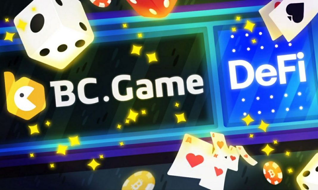BC.Game: An Online Gaming Platform Supporting DeFi