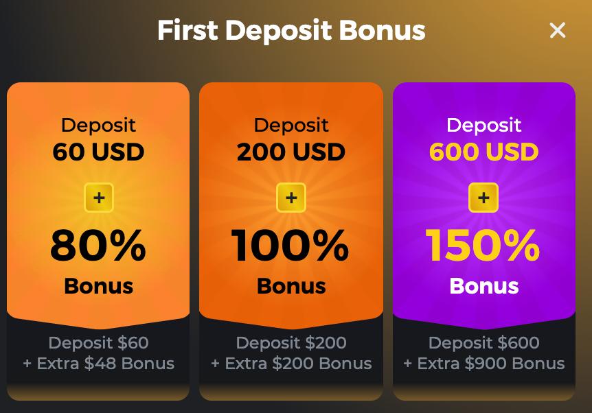 BC Game Deposit Bonuses
