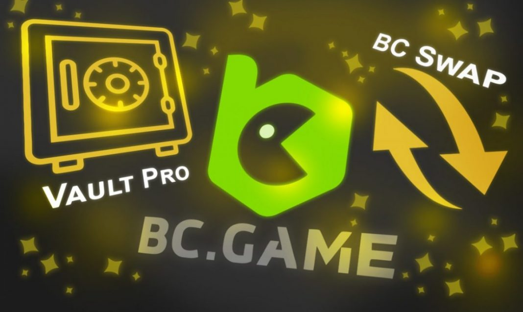 All About Vault Pro and BC Swap in BC.Game!